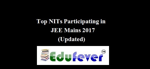 NIT PARTICIPATING IN JEE MAINS 2017