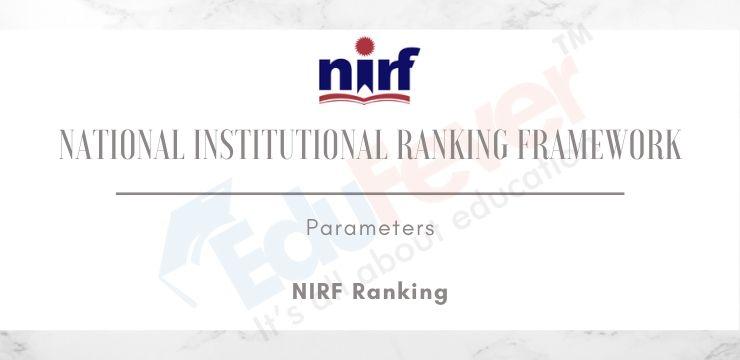 National Institutional Ranking Framework