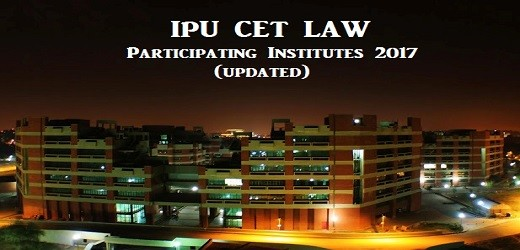 IPU CET Law Participating Institutes