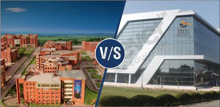 Which University is Better Amity or ITM Gurgaon
