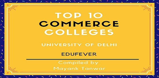 top 10 commerce colleges in Delhi University