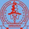 SRTR Medical College Ambajogai logo