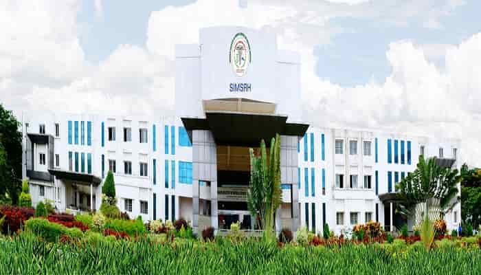 Simsrh Tumkur 2020 21 Admission Fees Cutoff Courses Much More