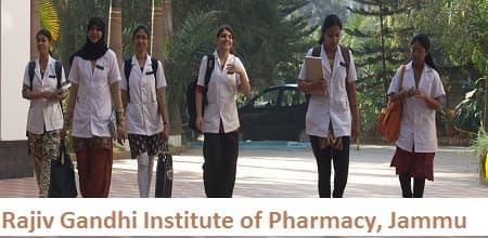 Rajiv Gandhi Institute of Pharmacy, Jammu