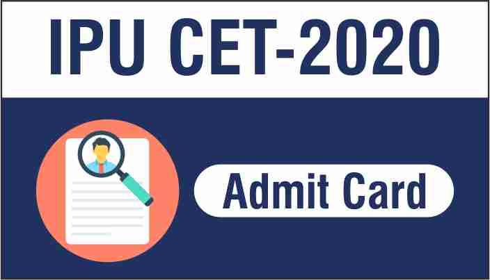 IPU CET admit card