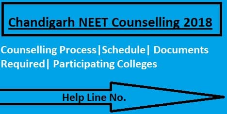 Chandigarh NEET 2018 Counselling, Chandigarh NEET Counselling, Chandigarh NEET Counselling 2018