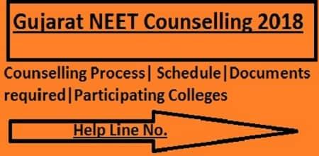 Gujarat NEET Counselling 2018