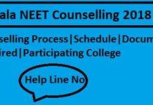 Kerala NEET Counselling 2018