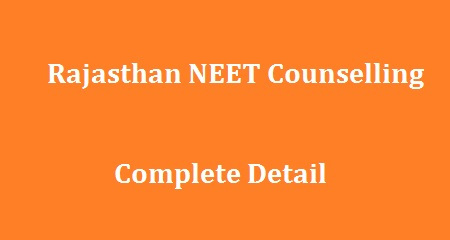 Rajasthan NEET Counselling 2018