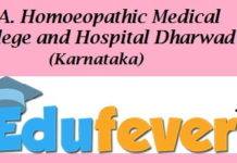 LEA Homoeopathic College Dharwad
