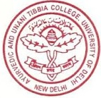 AUT Ayurvedic College Karol Bagh Logo