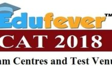 CAT 2018 Exam Centre, CAT Test Venues, CAT Exam Centres