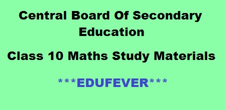 Download CBSE Class 10 Maths Practice Papers in PDF (*2019-20)