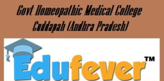 Govt Homeopathic Medical College Cuddapah, Govt Homoeopathic College Cuddapah