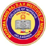 Mahatma Hans Raj DAV Institute of Nursing jalandhar logo
