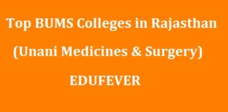 Top BUMS Colleges in Rajasthan
