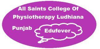 All Saints College of Physiotherapy Ludhiana