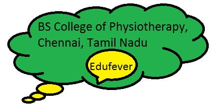 BS College of Physiotherapy Chennai, BS Physiotherapy College Chennai