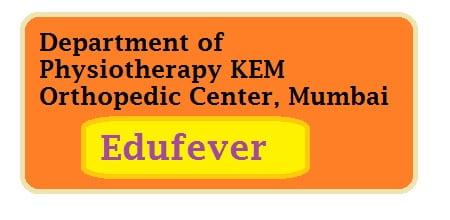 KEM Physiotherapy College Mumbai, KEMCP Mumbai