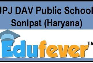 JPJ DAV Public School Sonipat
