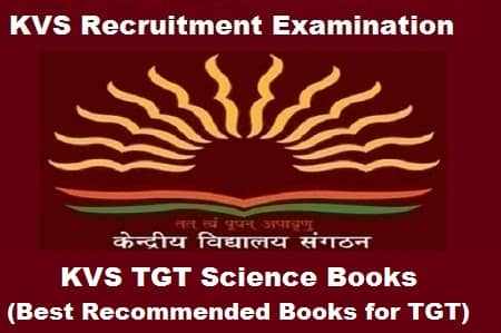 KVS TGT Science books