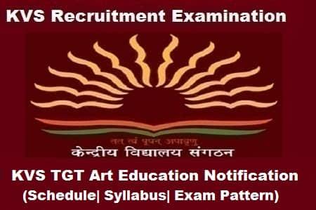 KVS TGT AE Exam, KVS TGT AE 2018 Notification, KVS TGT ae notification