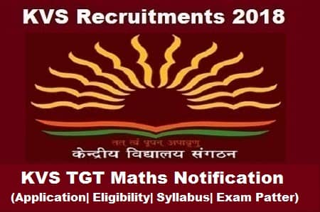 KVS TGT Maths Exam, KVS TGT Maths Notification, KVS TGT math notification