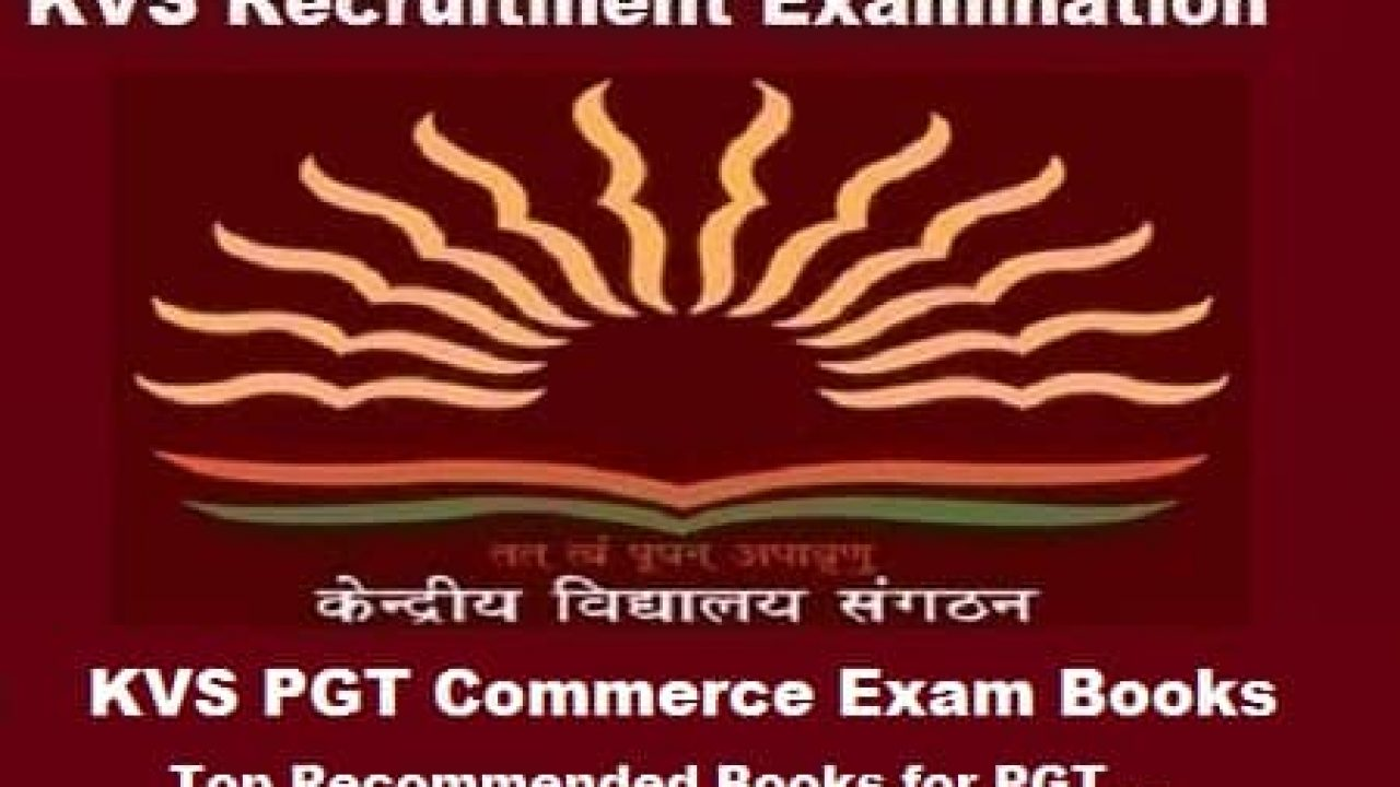 KVS PGT Commerce Exam Books: Top Recommended Books for PGT Exam