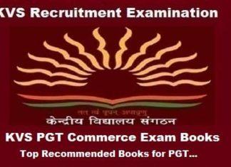KVS PGT Commerce Books, KVS PGT Commerce exam Preparation Books, KVS PGT Commerce Exam guide, KVS pgt Commerce exam books