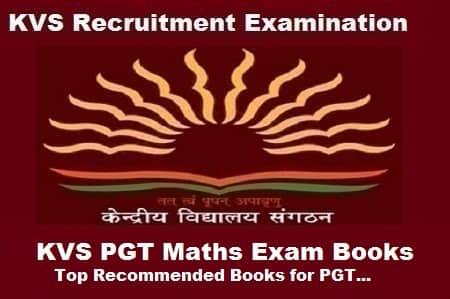 KVS PGT Maths Books, KVS PGT Maths exam Preparation Books, KVS PGT Maths Exam guide, KVS pgt Maths exam books
