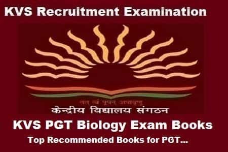 KVS PGT Biology Exam Books: Top Recommended Books for PGT Biology