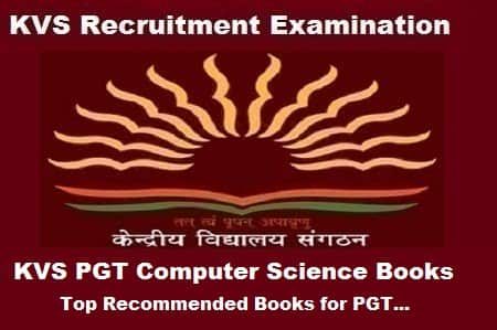 KVS PGT Computer Science Books, KVS PGT Computer Science exam Preparation Books, KVS PGT Computer Science Exam guide, KVS pgt cs books