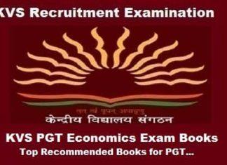 KVS PGT Economics Books, KVS PGT Economics exam Preparation Books, KVS PGT Economics Exam guide, KVS pgt economics exam books