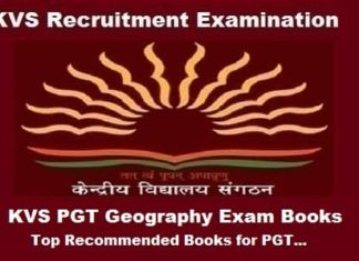 KVS PGT Geography Exam guide, KVS PGT Geography exam Preparation Books, KVS PGT Geography Books, KVS pgt geography exam books