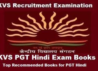 KVS PGT Hindi Books, KVS PGT Hindi exam Preparation Books, KVS PGT Hindi Exam guide, KVS pgt hindi books
