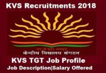 KVS TGT Job Profile, KVS TGT salary, KVS tgt JOB Profile