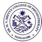 MV Shetty College of Physiotherapy Mangalore logo