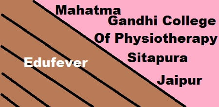 Mahatma Gandhi College of Physiotherapy Sitapura, MG Physiotherapy College Sitapura, Mahatma Gandhi Physiotherapy College Sitapura
