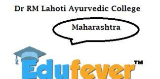 RM Lahoti Ayurvedic College Maharashtra