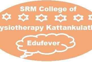 SRM Physiotherapy College Kattaankulathur