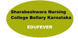 Sharabeshwara Nursing College Bellary