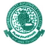 Shekhawati Ayurvedic College Logo,SAMCH Pilani