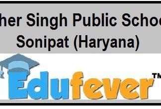 Sher Singh Public School Sonepat, SSPS Sonepat