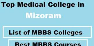 list of mbbs college in Mizoram