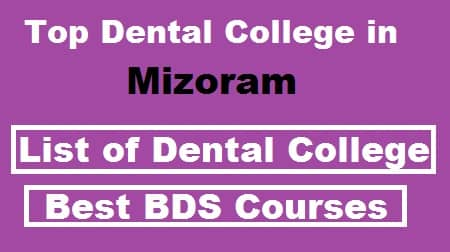 top dental college in mizoram