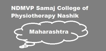 NDMVP Samaj College of Physiotherapy Nashik