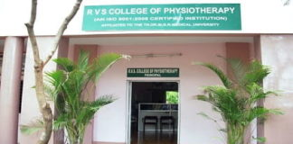 RVS College of Physiotherapy Coimbatore