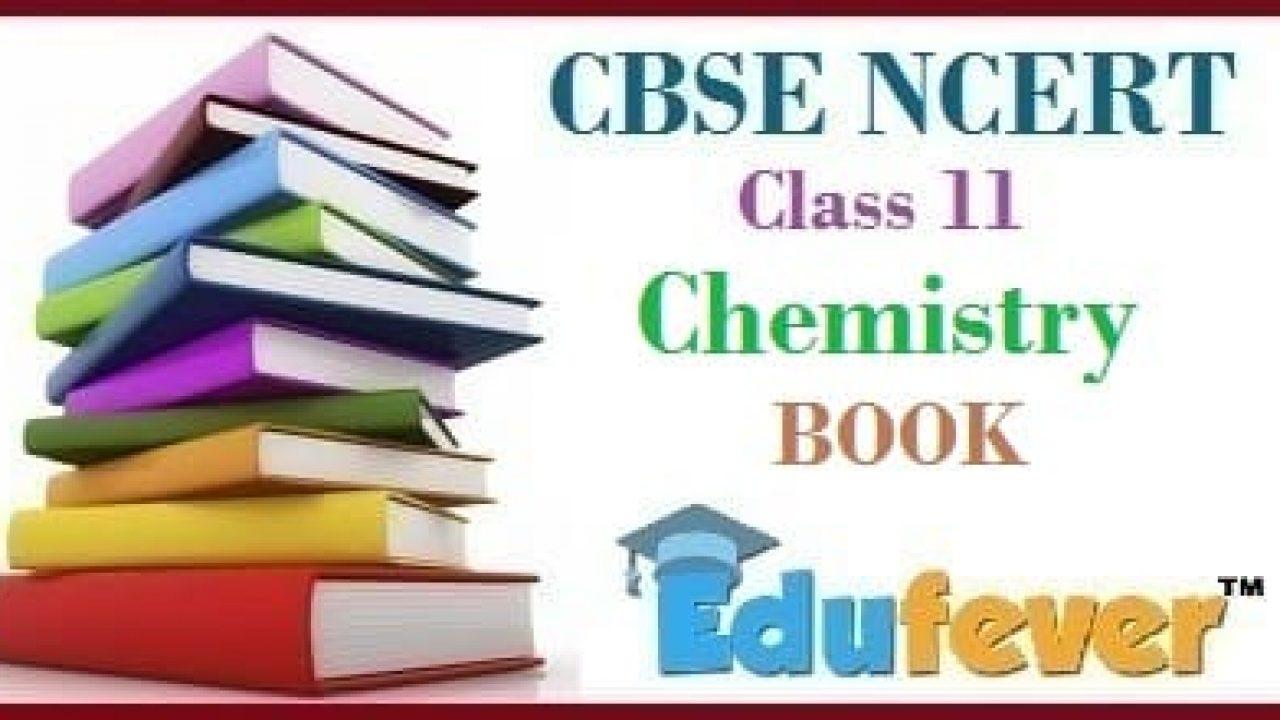 CBSE NCERT Class 11 Chemistry Books in 2019-20