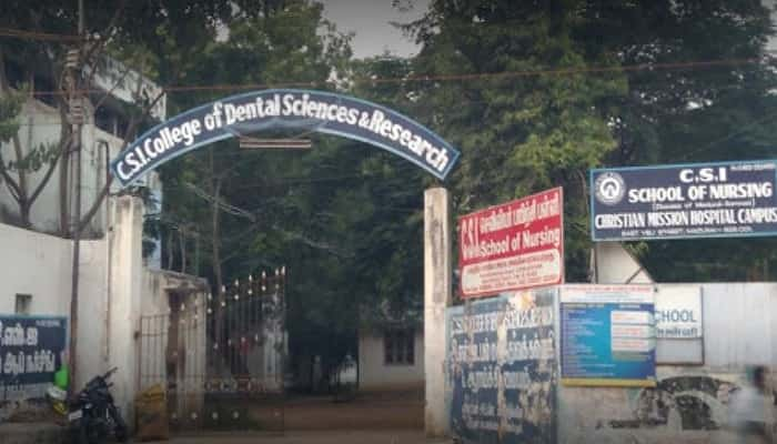 CSI College of Dental Sciences and Research Madurai
