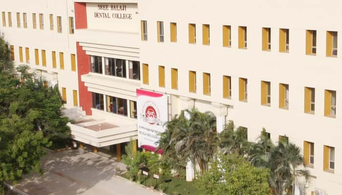 Sree Balaji Dental College & Hospital Narayanapuram